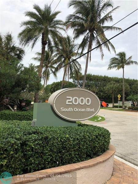 2000 S Ocean Blvd #404, Delray Beach, FL 33483 (MLS #F10262623) :: Green Realty Properties