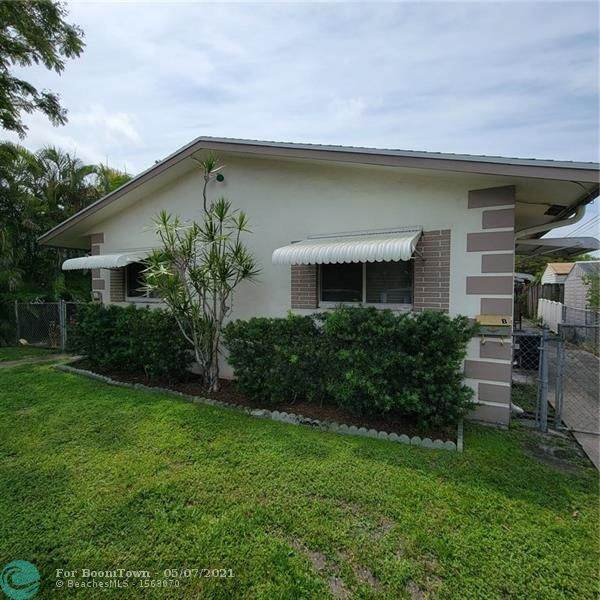 824 NE 39th St, Oakland Park, FL 33334 (#F10282323) :: Posh Properties