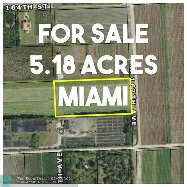 SW 168 Street & Sw 167 Avenue, Miami, FL 33187 (#F10283619) :: Baron Real Estate