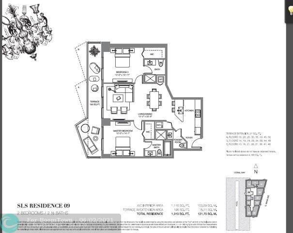 1300 S Miami Ave #3509, Miami, FL 33130 (#F10285488) :: Posh Properties