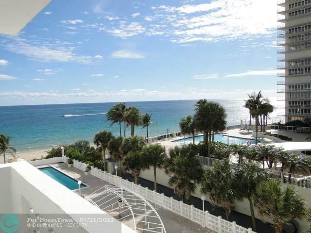 4250 Galt Ocean Dr 4D, Fort Lauderdale, FL 33308 (MLS #F10293566) :: Berkshire Hathaway HomeServices EWM Realty