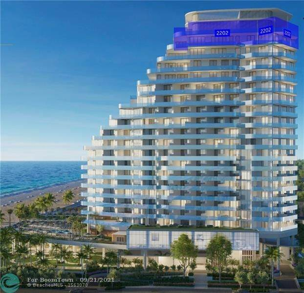 525 N Ft Lauderdale Bch Bl #2202, Fort Lauderdale, FL 33304 (#F10301469) :: Posh Properties
