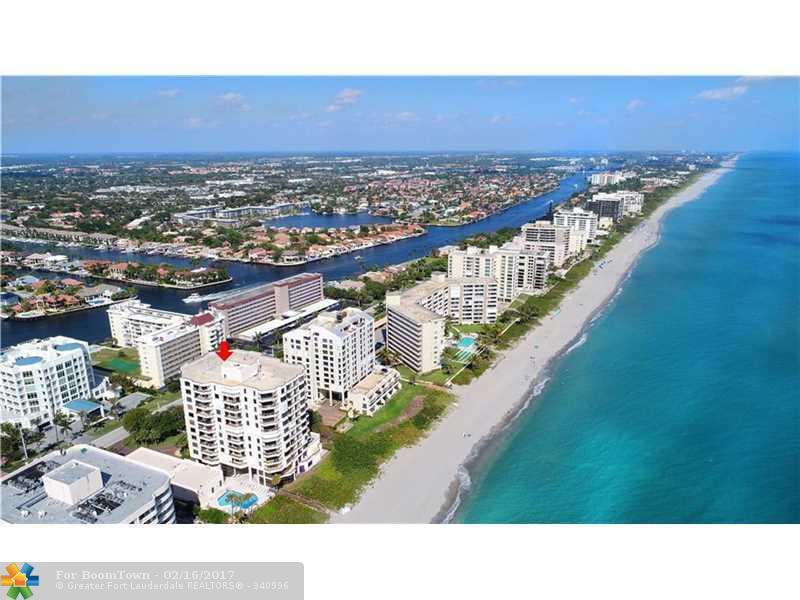 3201 S Ocean Blvd #802, Highland Beach, FL 33487 (MLS #F10017836) :: United Realty Group