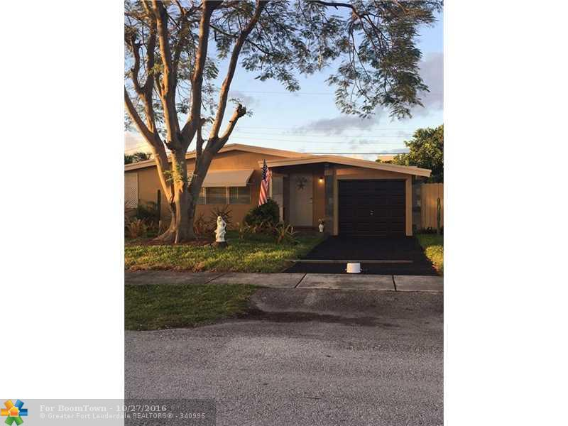 811 NE 60th St, Oakland Park, FL 33334 (MLS #F10036731) :: United Realty Group