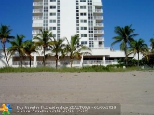 1370 S Ocean Blvd #605, Pompano Beach, FL 33062 (MLS #F10084923) :: Green Realty Properties
