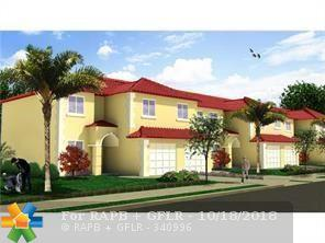 5460 SW 13th Ct #5460, North Lauderdale, FL 33068 (MLS #F10096252) :: Green Realty Properties