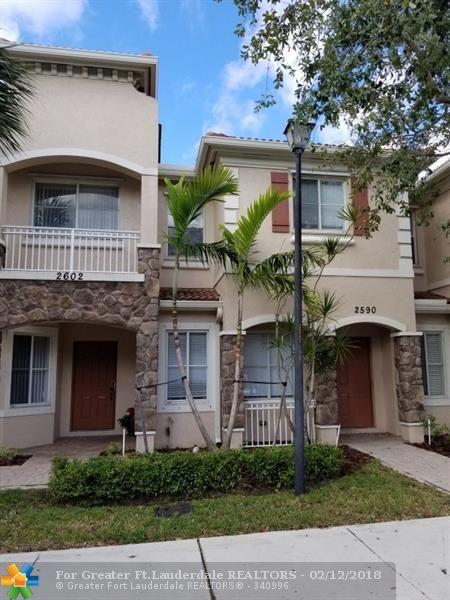 2590 SW 82nd Ave #107, Miramar, FL 33025 (MLS #F10107798) :: Green Realty Properties