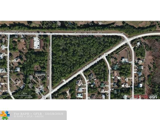 0 E Weatherbee Rd & E Midway Rd., Fort Pierce, FL 34982 (MLS #F10109874) :: Green Realty Properties