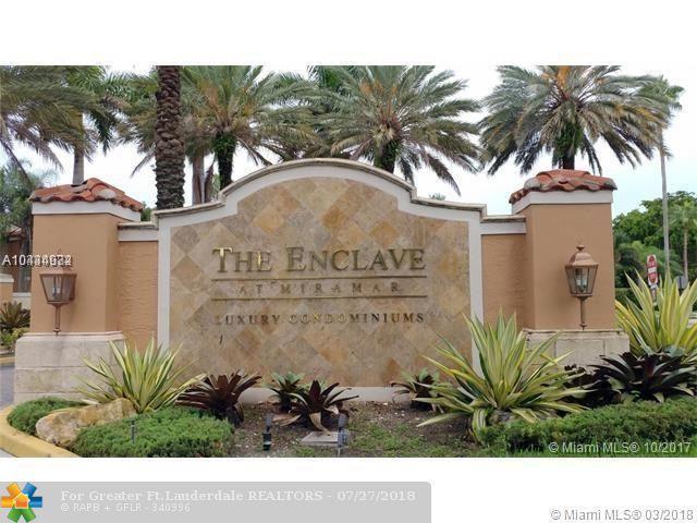 2091 Renaissance Blvd #201, Miramar, FL 33025 (MLS #F10115653) :: Green Realty Properties