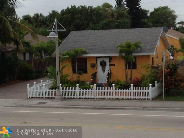 505 S Ocean Blvd, Pompano Beach, FL 33062 (MLS #F10121792) :: Green Realty Properties