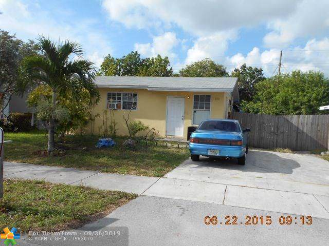 2580 NW 4th Ct, Pompano Beach, FL 33069 (MLS #F10129613) :: Castelli Real Estate Services