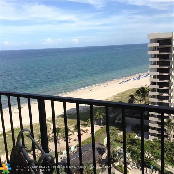 5000 N Ocean Blvd #1607, Lauderdale By The Sea, FL 33308 (MLS #F10134585) :: Green Realty Properties