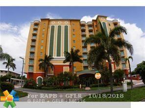 821 N Riverside Dr #701, Pompano Beach, FL 33062 (MLS #F10136737) :: Green Realty Properties
