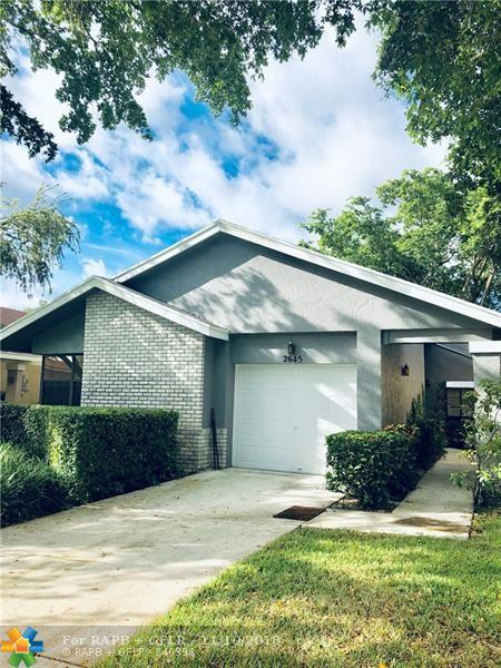 2645 NW Blue Sage Ave, Coconut Creek, FL 33063 (MLS #F10146542) :: Green Realty Properties