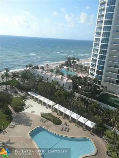 3001 S Ocean Drive #1219, Hollywood, FL 33019 (MLS #F10147441) :: Green Realty Properties