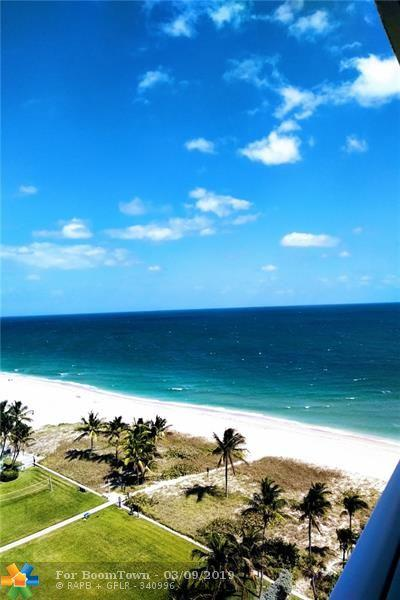 5200 N Ocean Blvd 1204E, Lauderdale By The Sea, FL 33308 (MLS #F10159601) :: The O'Flaherty Team