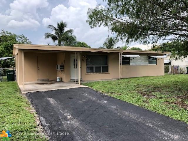 6111 SW 3rd St, Margate, FL 33068 (MLS #F10180006) :: Green Realty Properties