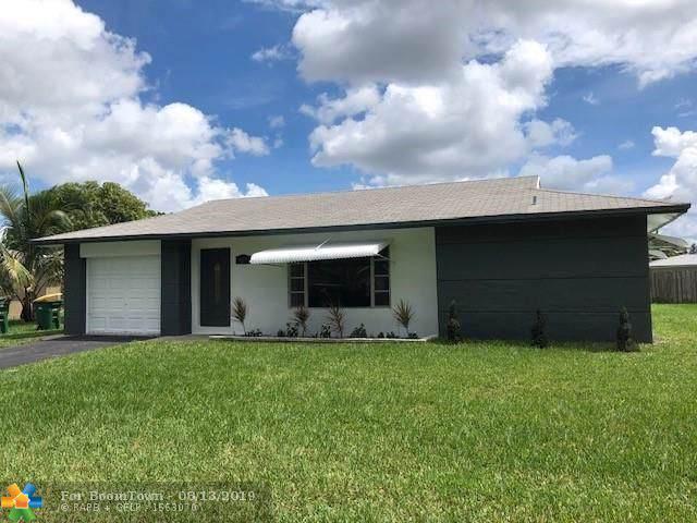 9209 Nw 67th St, Tamarac, FL 33321 (MLS #F10189189) :: Berkshire Hathaway HomeServices EWM Realty