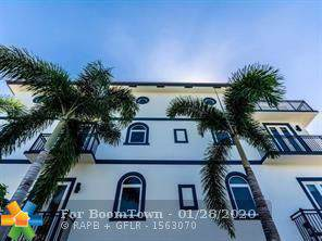 822 NE 7th St H, Fort Lauderdale, FL 33304 (MLS #F10213709) :: The O'Flaherty Team