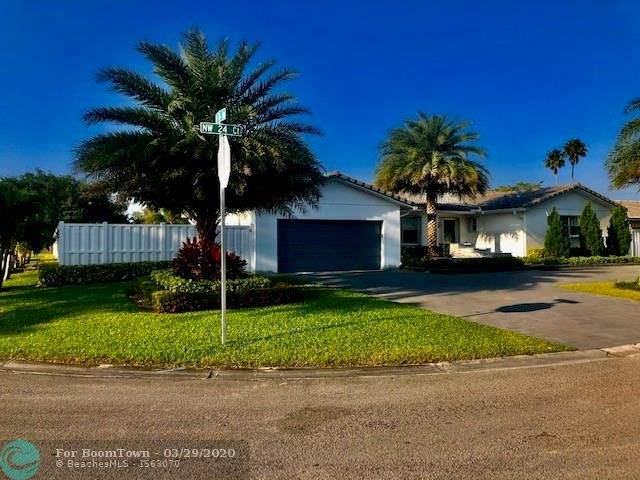 8655 NW 24th Ct, Coral Springs, FL 33065 (MLS #F10223700) :: United Realty Group