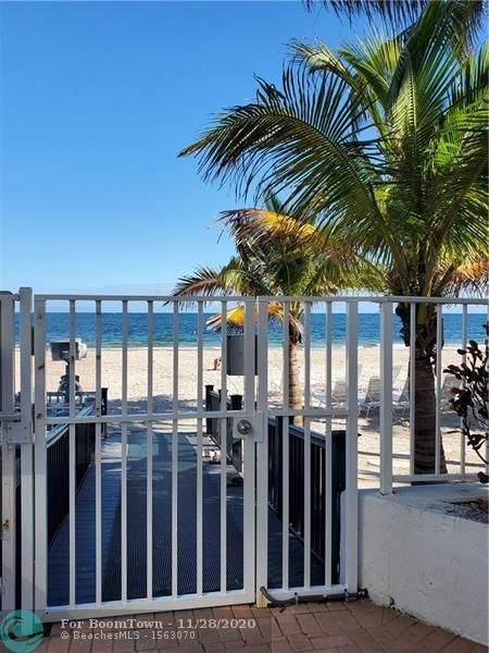 1010 S Ocean Blvd #414, Pompano Beach, FL 33062 (MLS #F10259724) :: The Jack Coden Group