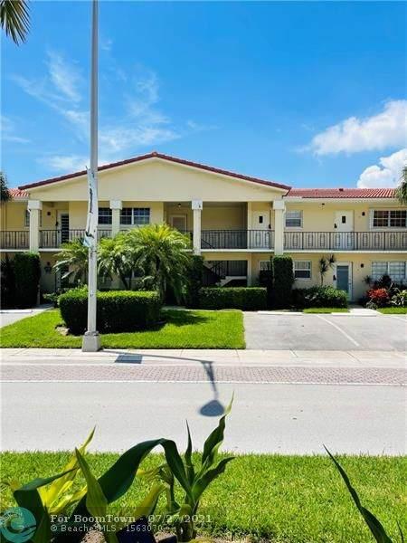 2200 NE 36th St #11, Lighthouse Point, FL 33064 (MLS #F10294165) :: Berkshire Hathaway HomeServices EWM Realty