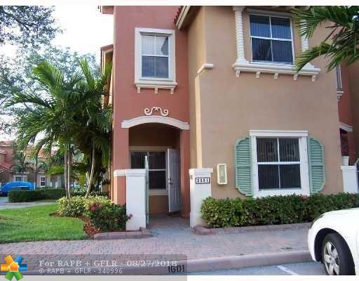 2291 Anchor Ct #1601, Fort Lauderdale, FL 33312 (MLS #F10124747) :: Green Realty Properties