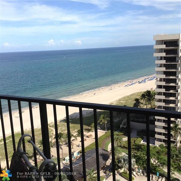 5000 N Ocean Blvd #1607, Lauderdale By The Sea, FL 33308 (MLS #F10134585) :: Green Realty Properties