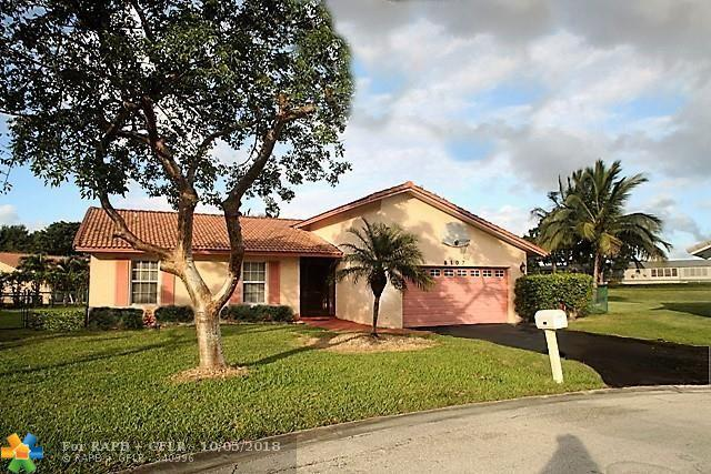 8107 NW 5th St, Coral Springs, FL 33071 (MLS #F10137513) :: Green Realty Properties