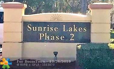 8600 Sunrise Lakes Blvd #309, Sunrise, FL 33322 (MLS #F10205294) :: The O'Flaherty Team