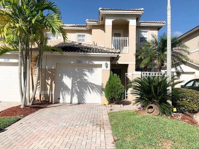 2260 NW 170th Ave #2260, Pembroke Pines, FL 33028 (MLS #F10248123) :: Green Realty Properties