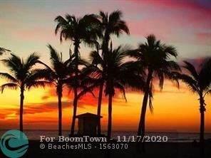 1 N Ocean Blvd #1707, Pompano Beach, FL 33062 (MLS #F10254726) :: Berkshire Hathaway HomeServices EWM Realty