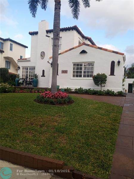 717 Biscayne Dr, West Palm Beach, FL 33401 (MLS #F10265130) :: THE BANNON GROUP at RE/MAX CONSULTANTS REALTY I