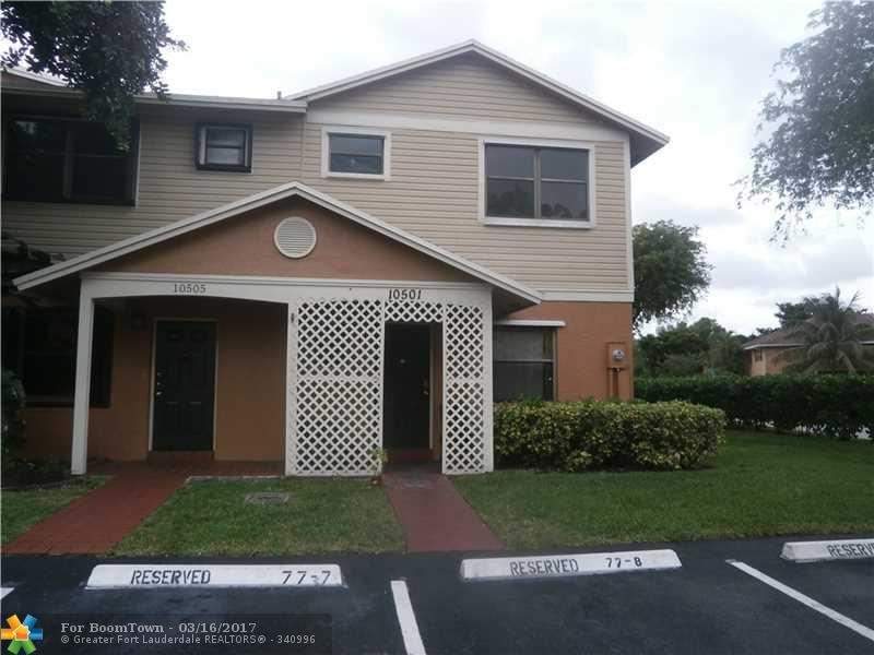 10501 NW 6th St #10501, Pembroke Pines, FL 33026 (MLS #F10037522) :: United Realty Group