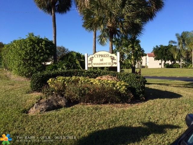 7406 Woodmont Ter #106, Tamarac, FL 33321 (MLS #F10126756) :: Green Realty Properties