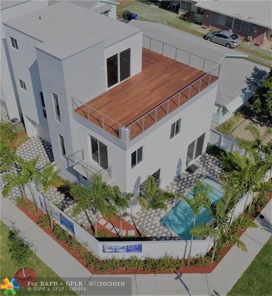 1615 NE 8th Street, Fort Lauderdale, FL 33304 (MLS #F10115631) :: Green Realty Properties