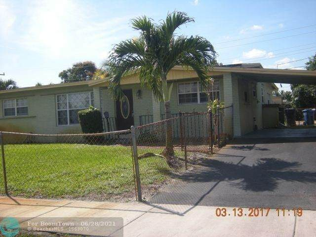 1420 NW 43rd St, Oakland Park, FL 33309 (#F10239533) :: Baron Real Estate