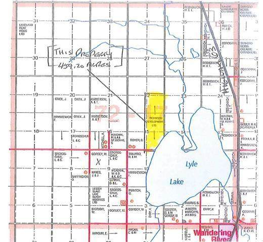 W/R 459.2 Acres - 3 Quarters - Half Mile Lakefront!, Wandering River, AB T0A 3M0 (MLS #FM0175322) :: Weir Bauld and Associates