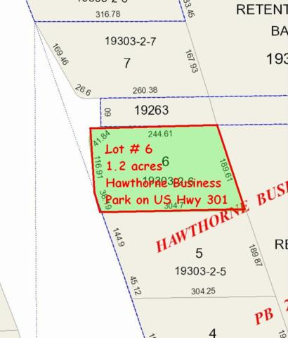 Lot # 6 SE Us Highway 301, Hawthorne, FL 32640 (MLS #402470) :: Rabell Realty Group
