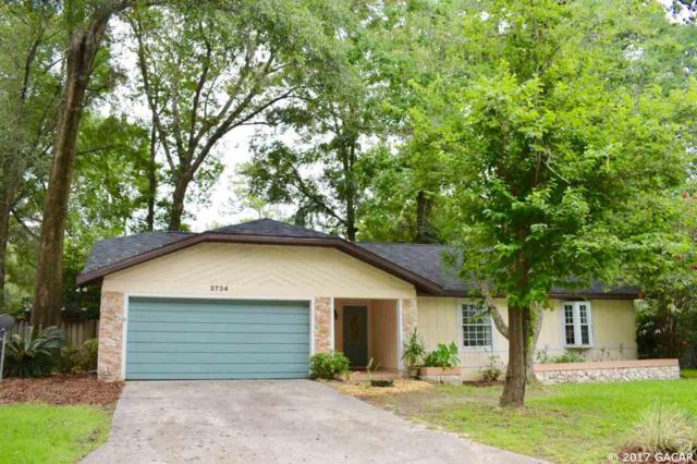 3734 NW 107th Terrace, Gainesville, FL 32605 (MLS #406361) :: Thomas Group Realty