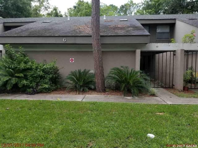 7200 SW 8th Avenue G42, Gainesville, FL 32607 (MLS #407993) :: Thomas Group Realty