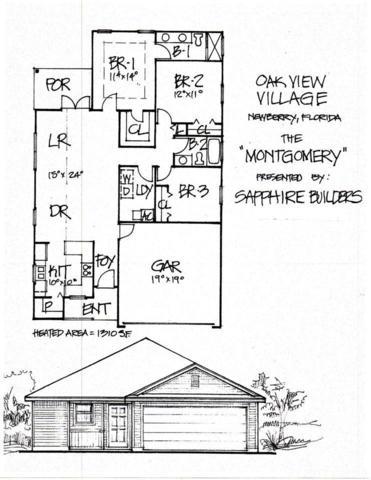 732 SW 251st Way, Newberry, FL 32669 (MLS #409046) :: Thomas Group Realty