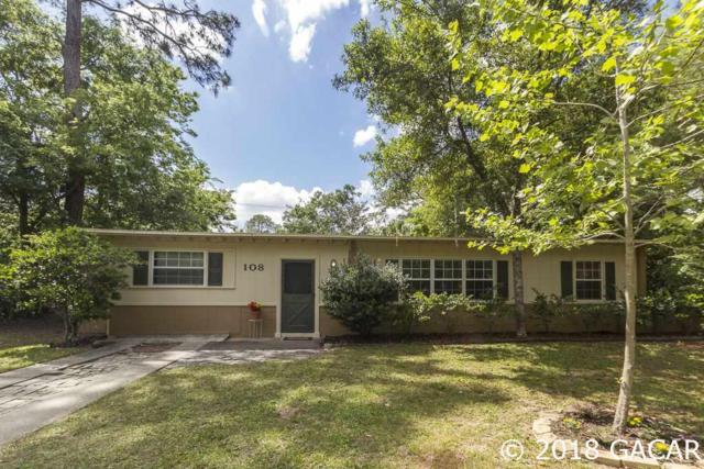 108 NW 36th Terrace, Gainesville, FL 32607 (MLS #414152) :: Bosshardt Realty