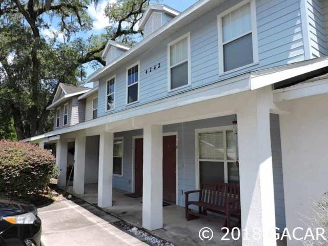 4242 SW 22nd Lane #118, Gainesville, FL 32607 (MLS #416828) :: Thomas Group Realty