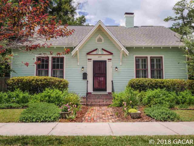 1224 NE 5TH Terrace, Gainesville, FL 32601 (MLS #418106) :: Bosshardt Realty
