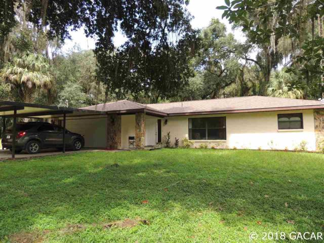 1406 SE Wacahoota Road, Micanopy, FL 32667 (MLS #418291) :: Thomas Group Realty