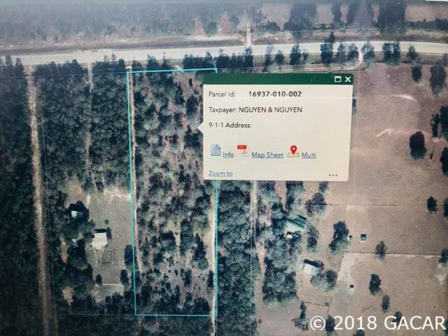 00 E County Rd 225 Road, Gainesville, FL 32609 (MLS #418427) :: Bosshardt Realty