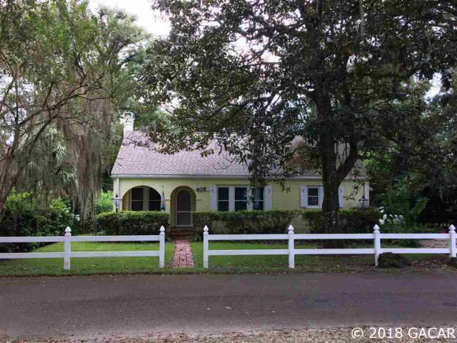409 NW 24th Street, Gainesville, FL 32607 (MLS #419177) :: Bosshardt Realty