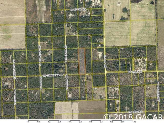 TBD SW Cumberland St, Ft. White, FL 32038 (MLS #419230) :: Bosshardt Realty