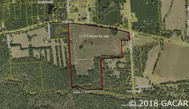 117 Acres W County Road 18, Lake Butler, FL 32054 (MLS #419534) :: Bosshardt Realty